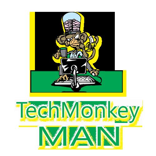 tech monkey man
